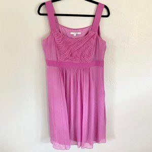 Boden Formal Lined Sleeveless Pink Flowy Dress